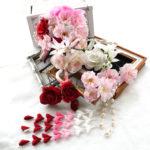 バラと桜の和・洋パーツセット(16パーツ)