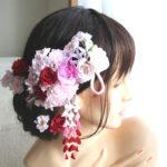 髪飾り取りつけイメージ(和コンセプト)